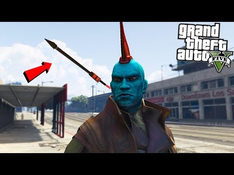 YONDU GUARDIANS OF THE GALAXY w/ARROW - GTA 5 Mods