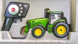 RC Tractor gets unboxed and tested! John Deere stuck!
