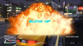 GTA 5  Blow up  (Walkthrough)