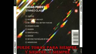 Judas Priest - Beyond The Realms Of Death (Sub Español)