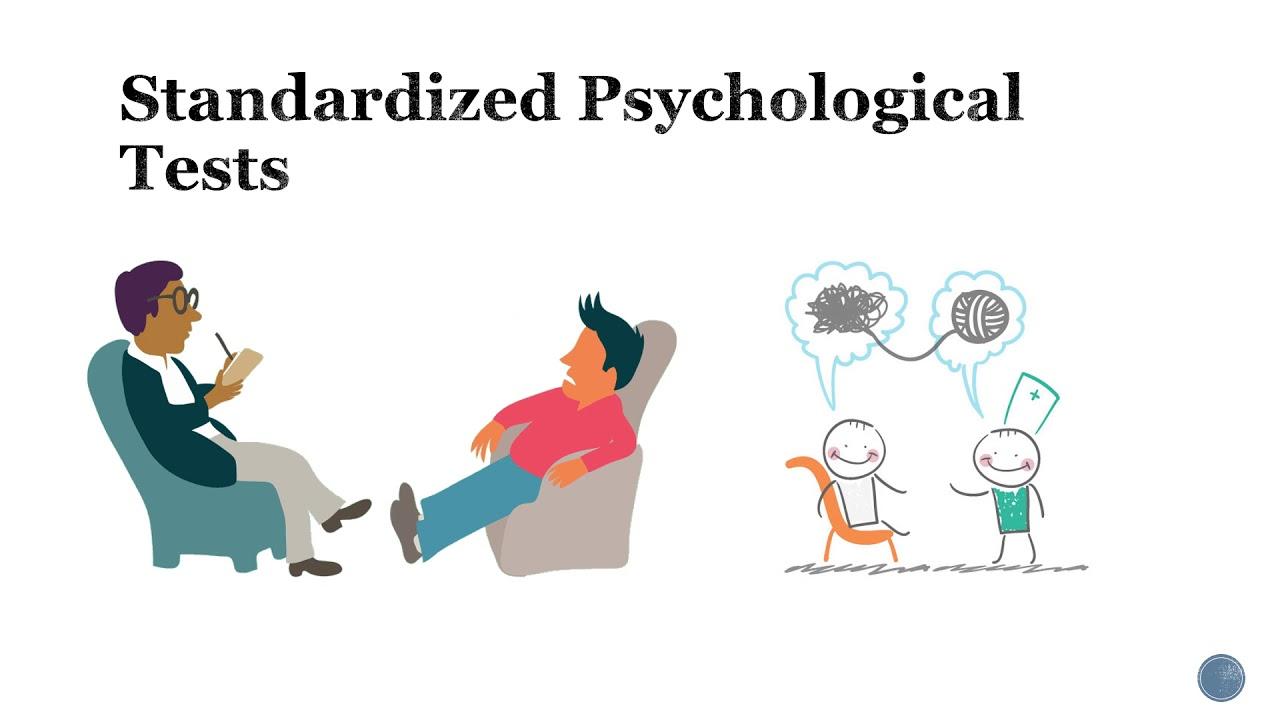 Standardized psychology test