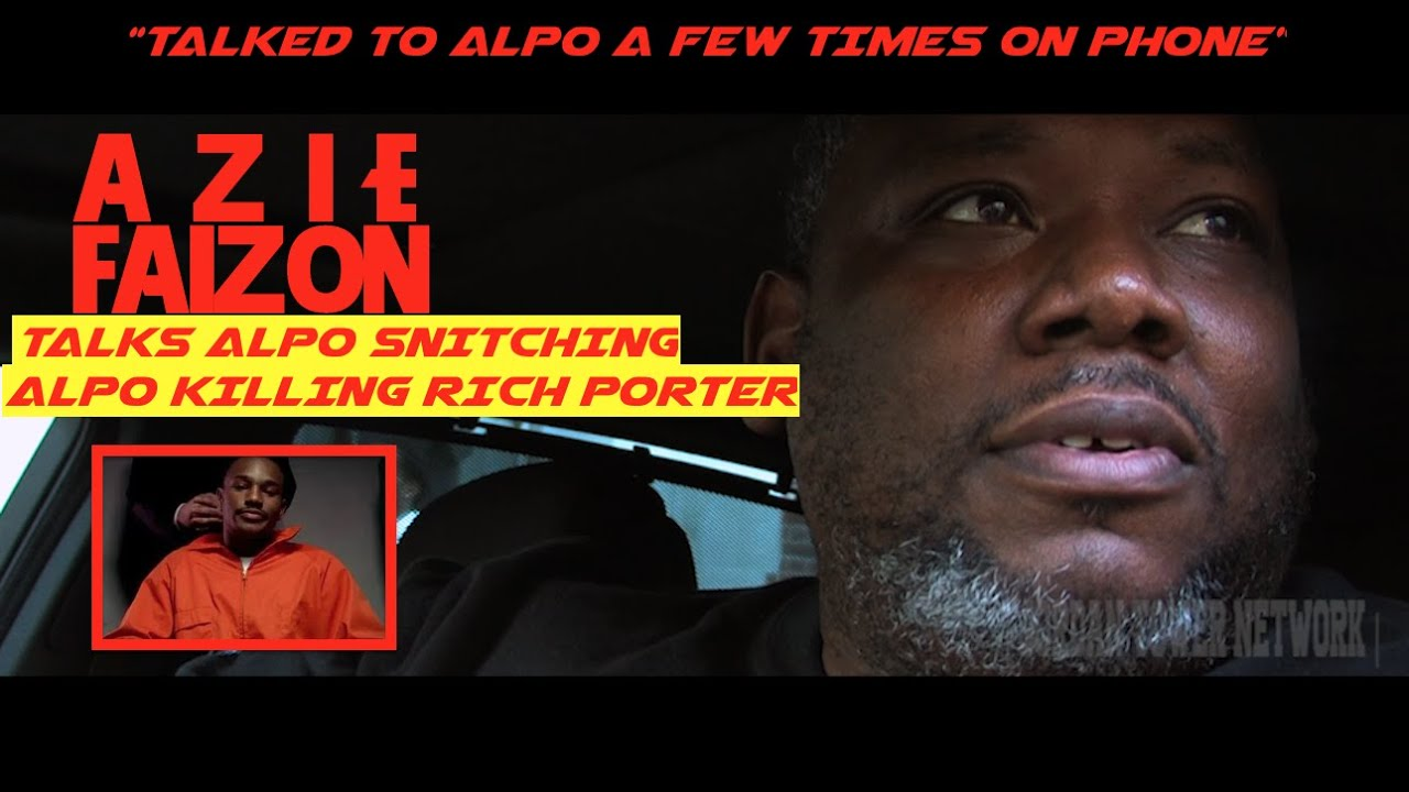 AZIE FAISON  DRUG KINGPIN  Talks Alpo Calling him  Snitching and     AZIE FAISON  DRUG KINGPIN  Talks Alpo Calling him  Snitching and Killing  Rich Porter   Jordan Tower   YouTube