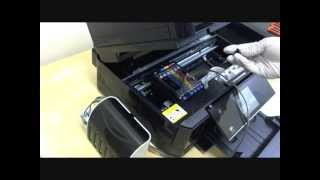 How to install CISS for Epson XP-800 XP-600 XP-810 XP-820 XP-620 XP-850 printers