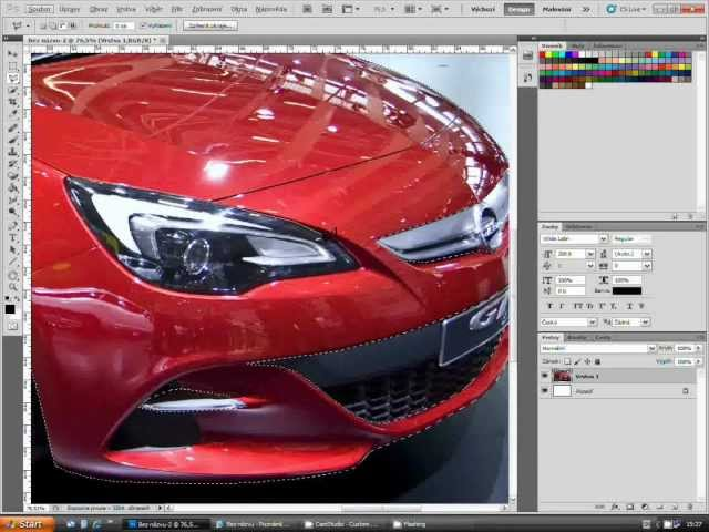 PHOTOSHOP-Tutorial:Zmena farby Travel Video