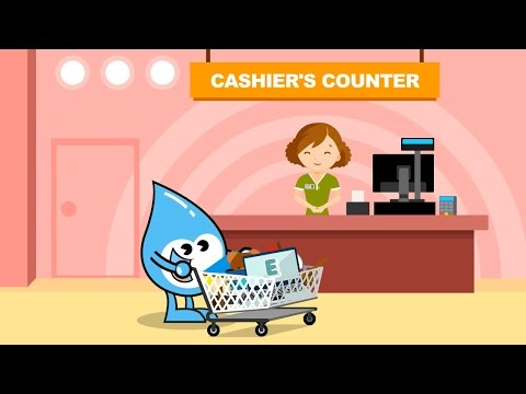 Unscramble With Water Wally - Shopping