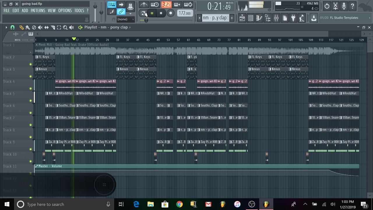 Going Bad- Meek Mill ft. Drake FLP Remake FL Studio (FREE FLP DOWNLOAD) image