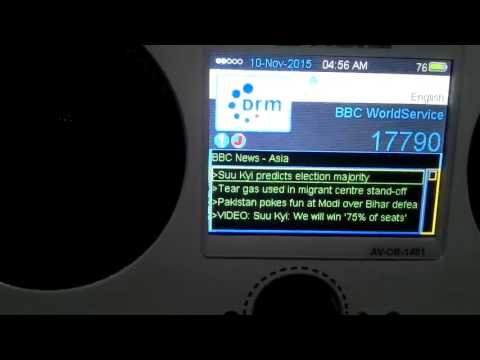 BBC on 17790KHZ DRM to South East Asia from 800 to 900 UTC