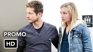 """The resident 2x13 """"virtually impossible"""" season 2 episode 13 promo - conrad, kit, mina and raptor work to save life of a med student in need tri..."""