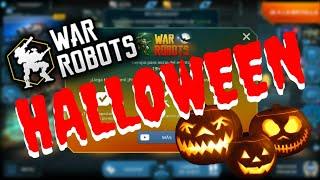WAR ROBOTS HALLOWEEN 2018