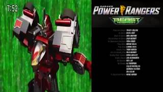 Power Rangers Beast Morphers Ending with Go-Busters Theme