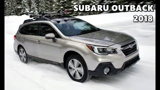 2018 Subaru Outback Snow Off-Road Driving