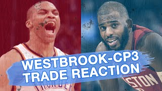 Russell Westbrook and Chris Paul Instant Trade Reactions LIVE | Ringer NBA Show