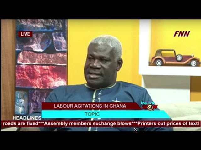 Mr Solomon Kotei talks about Labor Agitations in Ghana