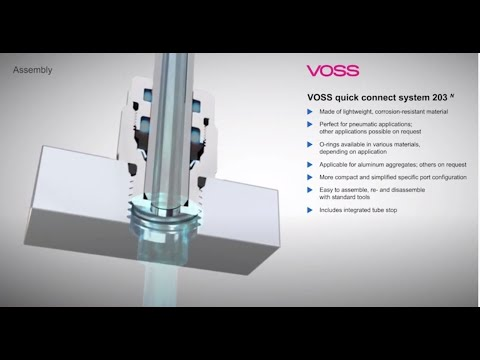 VOSS Quick Connect System 203N