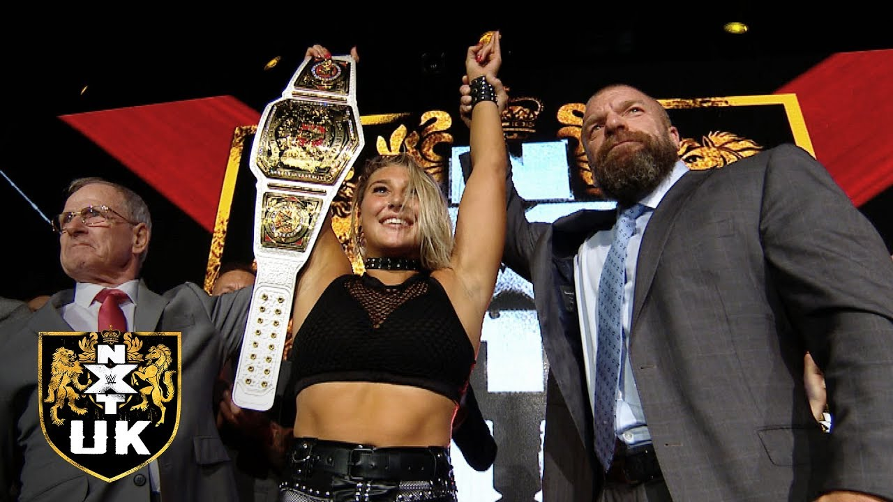 Rhea Ripley Becomes First-Ever WWE NXT UK Women's Champion
