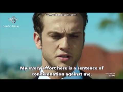 Aras Bulut Iynemli reciting a poem in Maral: En güzel hikayem (English SUBS)