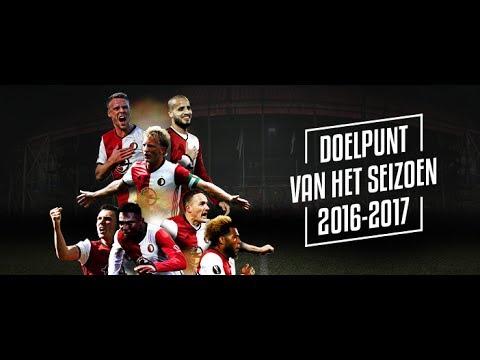 Verkiezing Feyenoord-doelpunt van het seizoen 2016 - 2017