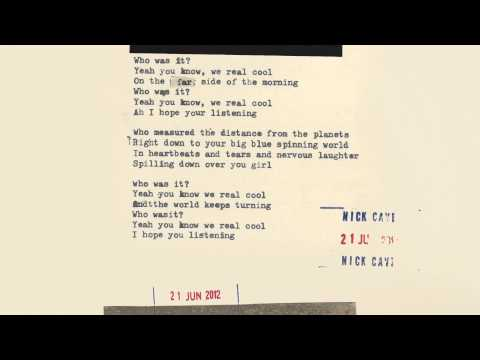 Nick Cave & The Bad Seeds – We Real Cool (Lyric Video)