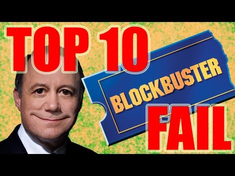 Top 10 Reasons Why BLOCKBUSTER FAILED