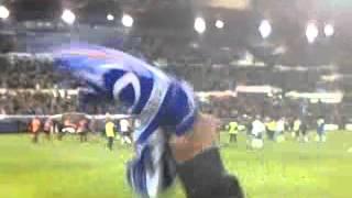 Zaragoza 3 Mallorca 2 Celebracion de los jugadores
