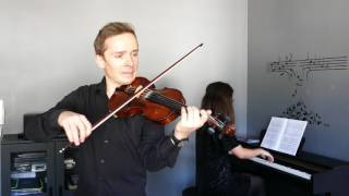 J. Haydn - Andante violin with piano Faber Music RIAM Grade 1 Violin