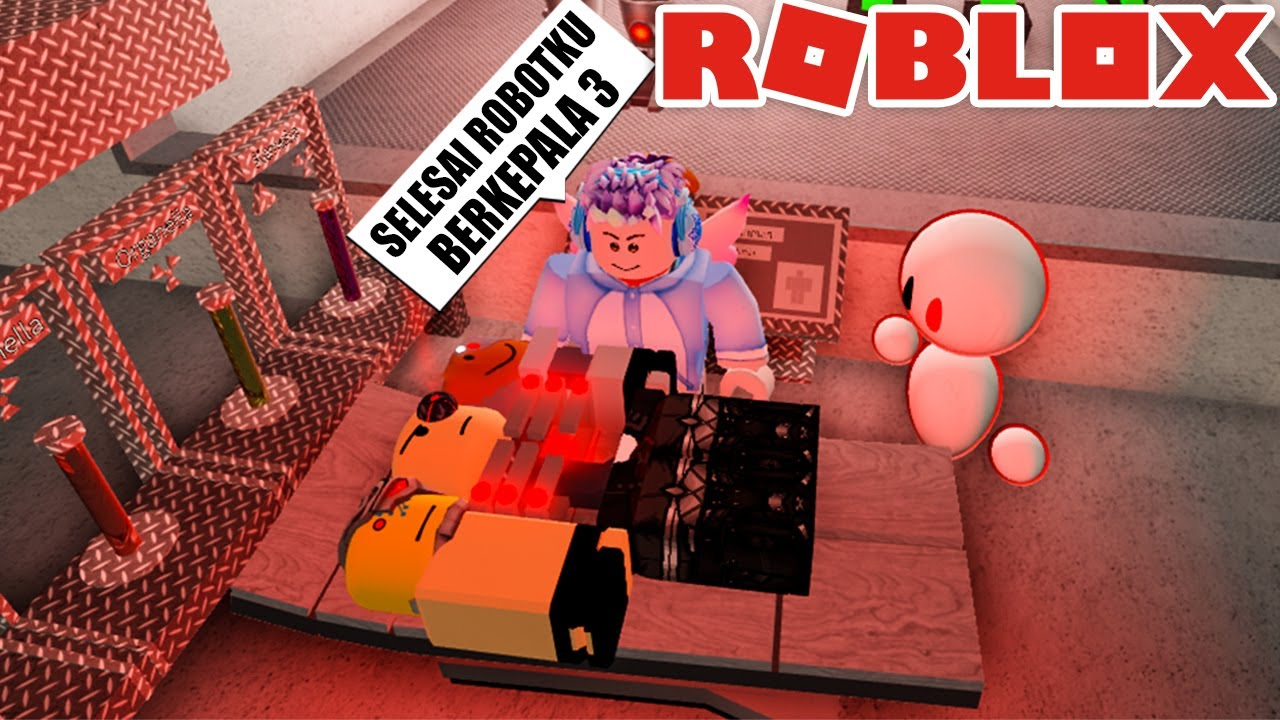 MEMBUAT ROBOT BOClL KEPALA 3 DI ROBLOX!!!