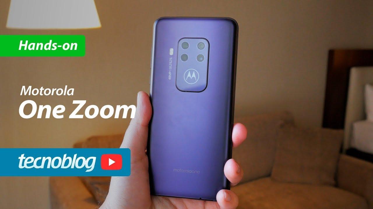 Uma olhada de perto no Motorola One Zoom – Celular