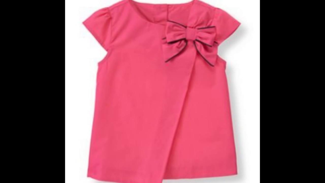 37a510ccf Blusas super hermosas para niñas♥ - YouTube