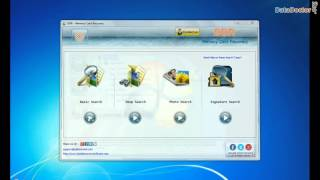 Steps to Recover Data from SD Card using DDR Data Recovery Software