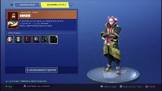 SKIN NOMADE PHASE 4 - FORTNITE BATTLE ROYALE