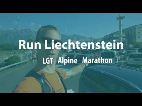 The LGT Alpine Marathon Liechtenstein