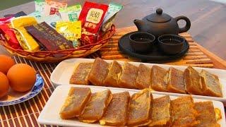 Pan Fried Chinese New Year Cake with Eggs | Sticky Rice Cake 鸡蛋煎年糕 - JosephineRecipes.co.uk