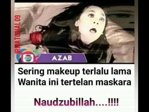 Kumpulan Meme Lucu Sinetron Azab Indosiar Youtube