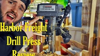 Harbor Freight Bench Drill Press Review