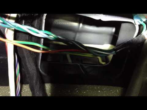 chrysler  dodge hvac control module calibration fix yo2000 chrysler voyager fuse box