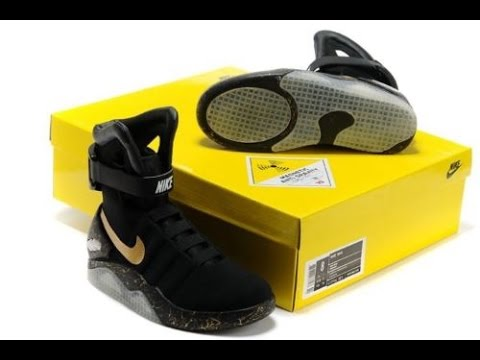sports shoes 7e5b7 5aef6 Nike MAG Black Replicas Unboxing and Review