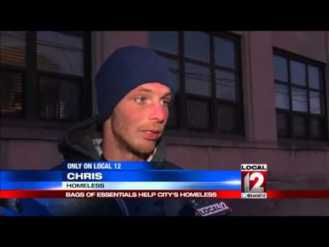 family bags essentials to help city s homeless youtube