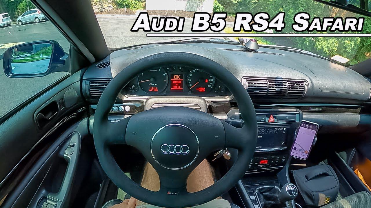 Driving The Audi B5 RS4 Safari - Rare Cosworth Powered Wagon Imported to America (POV)