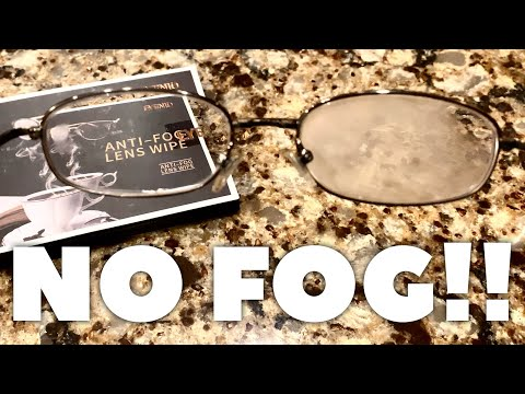 These Anti-Fog Glasses Wipes Work!!