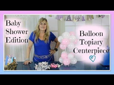 Balloon Centerpiece Baby Shower Edition Air Filled