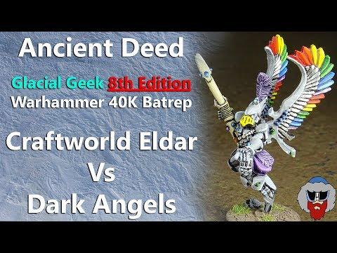 Repeat Craftworld Eldar VS Dark Angels - 8th Edition