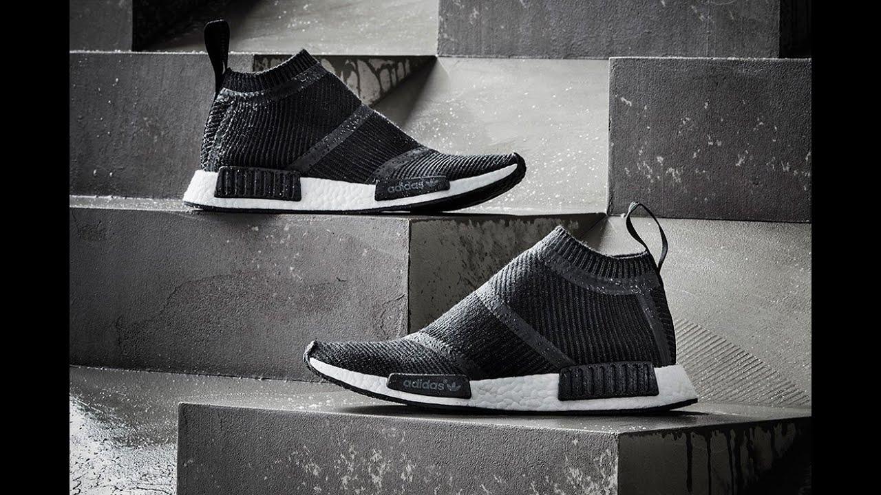c67046457a72e Unboxing Adidas NMD CS1 PK City Sock Winter Wool - YouTube