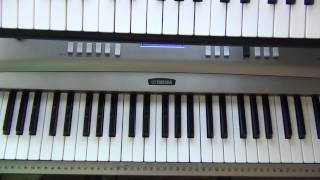 How To Play One Wish on Piano