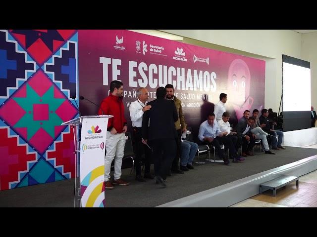 Foro Escucha - Gobierno de Michoacán