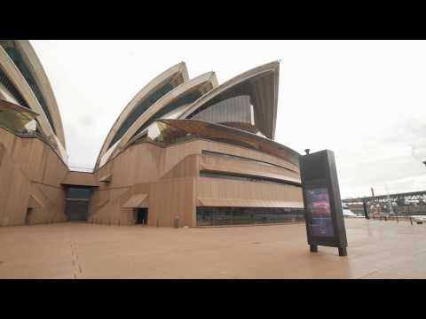 Sydney Video Walk 4K - Opera House & Harbour Bridge Spring 2017