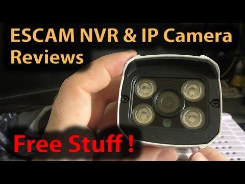 #302 ESCAM K516 NVR Network Video Recorder and QD300 IP Camera Review