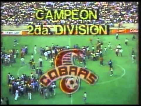 León-Cobras Cd Juarez.  Final Segunda división (1987-1988)