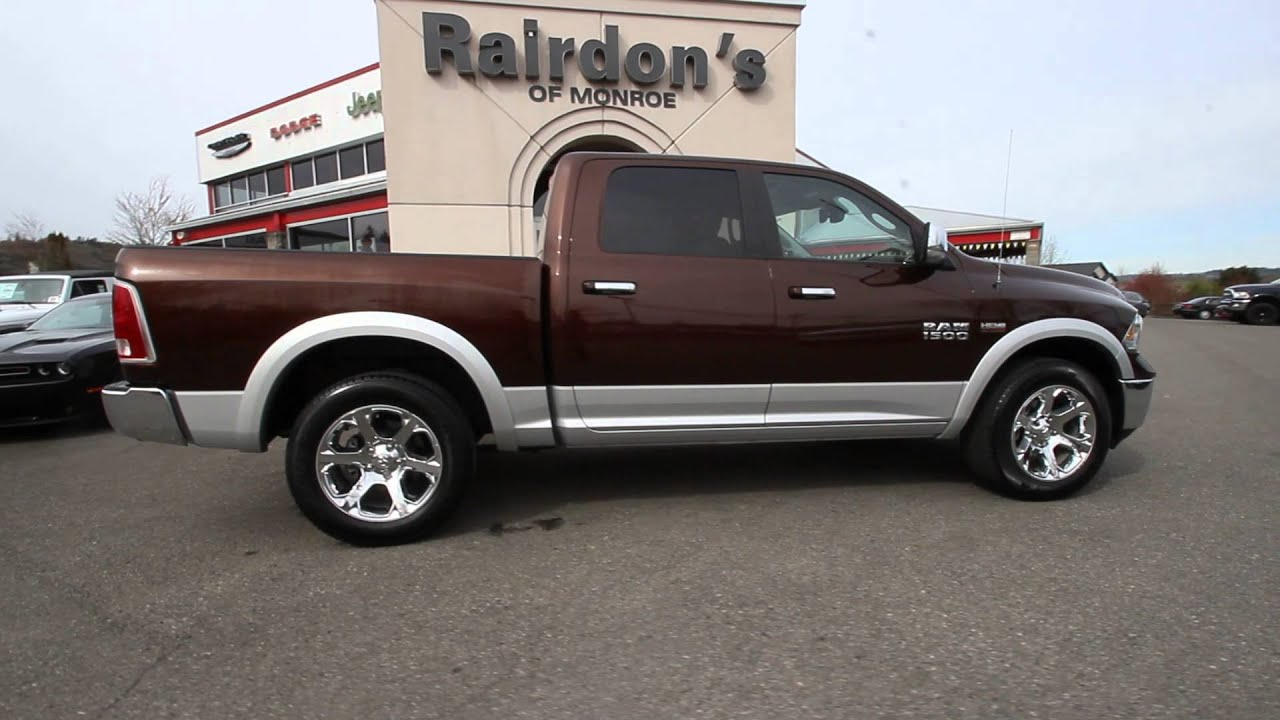 2012 Dodge Ram 3500 Laramie Longhorn | Western Brown ...