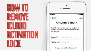How to unlock & remove icloud activation lock 2017