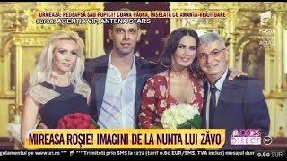 """Imagini de la nunta Oanei Zăvoranu cu Alex: """"N-am crezut că cineva mă va convinge să ajung aici"""""""